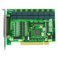 PCI2323 阿尔泰 16路开关量隔离输入、16路继电器输出卡