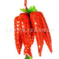 喜庆厂家大片35个头辣椒 高档婚庆用品 仿真辣椒挂件批发