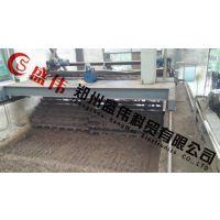 鸡粪槽式翻堆机,槽式翻堆机,郑州盛伟机械