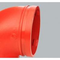 建支牌沟槽管件消防耐腐蚀性好的管件90度弯头