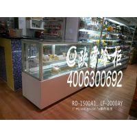 供应四川自贡市甜美公主咖啡店日式直角蛋糕柜冷藏冷柜