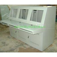 深圳监控系统操作台 监控机柜操作台 液晶监控中心电视墙操作台