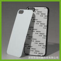 DIY来图定制 苹果5代热转印手机保护壳套 PC凹槽素材耗材批发