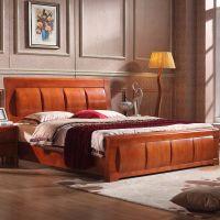 厂家直销 实木家具 实木床特价 高档进口橡木床套房 精品床