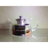 创虹耐温玻璃卡扣式茶艺杯  T-1100   1100ml