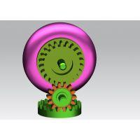 冠牙齿轮传动设计_轮子机器人机构运动设计