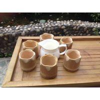 工艺品 竹笔筒 天然竹根笔筒 竹花瓶图片