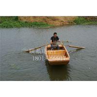 江苏定制小木船手划观光木船旅游景区类客船