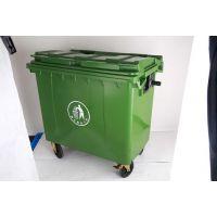 赤峰大型塑料垃圾桶,环卫垃圾桶,手推式垃圾桶