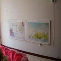 河北沧州圣盾电采暖设备厂批发销售:远红外碳晶发热板、壁挂式电暖画等