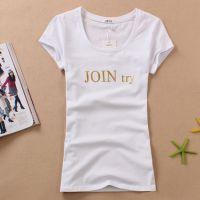 工厂直销夏季T恤批发去哪批发短袖服装批发市场
