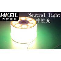 香港乔罗厂家直销三色变光LED灯带,一条LED灯条抵三条,高亮5730双排LED贴片灯条