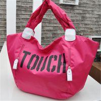 韩版糖果色荧光色尼龙手包 时尚休闲尼龙touch手提包 中可弘世厂家定做