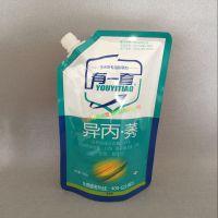 液体肥料袋子生产商_直立吸嘴袋款|除草剂/灭虫剂耐酸袋|可站立袋