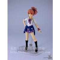 日本美少女战士 动漫周边pvc手办公仔定制 动漫玩具批发 生产厂家