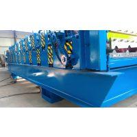 山西客户现场订购840-900双层设压瓦机设备