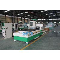 贵州板式家具生产线-格特双工序加排钻包数控开料机|开料下料打孔