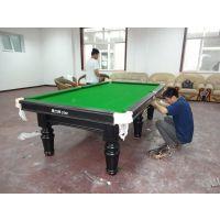 维修台球桌 台球桌修理 台球桌拆装