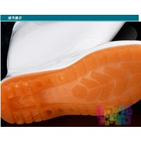 男女中筒高筒加厚白色食品雨鞋卫生雨靴防滑水鞋水靴耐酸碱油
