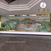 户外大型壁画高温瓷板画_广场高温瓷板画宣传画定做