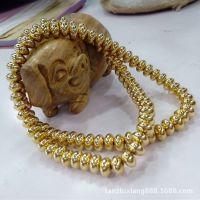 【檀之香】黄铜隔片 DIY藏式佛珠配件 尼泊尔念珠纯铜隔片垫片