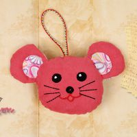 婚礼抛酒小礼品创意十二生肖之老鼠挂件清库散货儿童玩具特价热卖