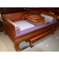 黑酸枝罗汉床家具实木仿古罗汉床款式图片