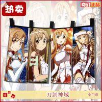 【出口日本】动漫美少女日式门帘 卡通图案装饰布帘 多图可选定制
