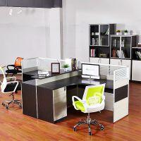 魅格办公家具时尚屏风办公桌椅2人工作位简约现代公司办公室桌子