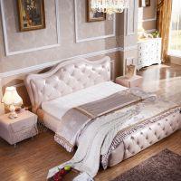 2015热卖爆款 欧式实木床 法式卧室家具 1米8双人床 厂家批发
