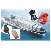 国际海运 美国LDP 美国清关送货 轻纺-手套围巾 快船服务