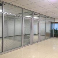 定制高隔断办公室隔断铝合金玻璃隔断墙办公隔断墙隔音天津厂家包安装