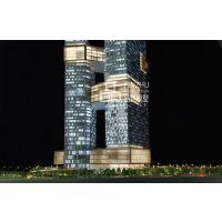 品筑模型腾讯滨海大厦1:100知名建筑沙盘房地产模型制作