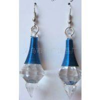 透明亚克力耳环 韩式耳坠 时尚水滴绕线耳坠 塑料耳环 女式耳饰