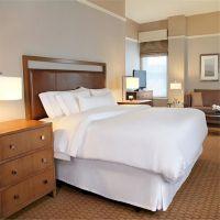进口材料 酒店套房板式家具 卧室成套家具定制 酒店必备用具