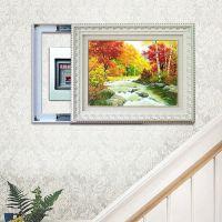 DCL2990 油画风景  厂家直销  推拉式电表箱装饰画 欧式框