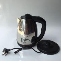 厂家直销电热水壶半球正品 不锈钢电热水壶电水壶热水壶彩壶批发