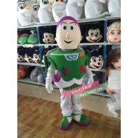 绿和卡通玩具总动员卡通服装人偶表演服饰毛绒玩具巴斯光年定做企业玩偶服