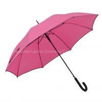 Straight Umbrella Pongee Material Custom Golf Umbrella