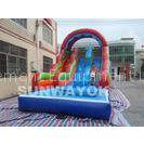 Durable 18Oz PVC tarpaulin inflatable pool water slide rental , CE / UL