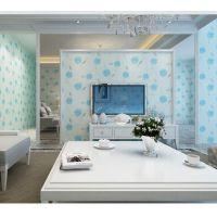 皇家罗兰无缝墙布现代简约客厅电视背景墙壁布3D卧室温馨墙纸
