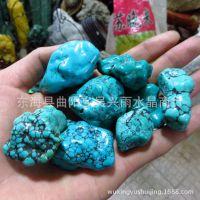 品质好 天然湖北竹山绿松石原石无加色的 原石每克 售价