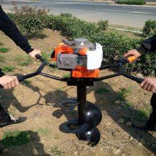 启航牌四冲程挖坑机 汽油种植机 厂家直销植树机