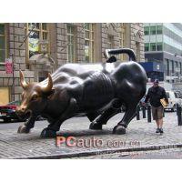 【曲阳雕刻】石雕牛 铜雕牛 玻璃钢钢雕塑牛 园林景观
