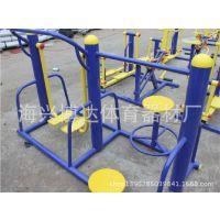 户外健身器材/健身路径/小区健身器材之扭腰漫步组合漫步腰旋