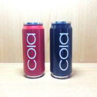 创意水杯可乐易拉罐不锈钢真空保温杯双层隔热星巴克杯子情侣杯