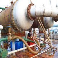 螺旋形换热器清洗除水垢方法