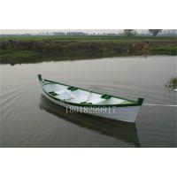欧式木船 情侣手划船 木质游船 景区观光客船