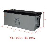 安庆复华蓄电池MF12-200原装现货