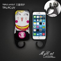 手机外壳 iphone6 6plus 苹果 手机保套 创意 工厂批发 大量现货 卡通 招财猫手机壳